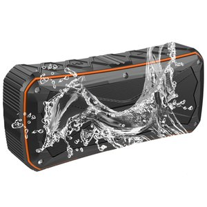 Waterproof sport Bluetooth Speaker With 4500mAh Dual 8W Output Power Bank Function Subwoofers Portable Wireless Speaker