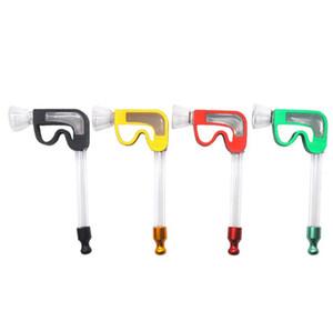 Yeni Metal Boru B Harfi Kalıp Çıkarılabilir ve Taşınabilir Cam Malzemesi