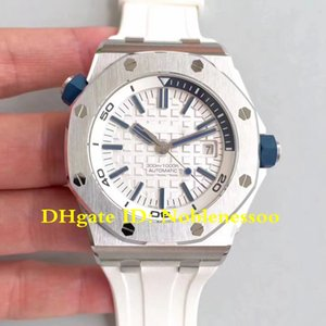 7 Цвет Лучшего V9s Mens издания белого циферблата 42mm Offshore Rubber Швейцарского Miyota CAL.3120 автоподзавода JF Maker Смотреть Мужские часы