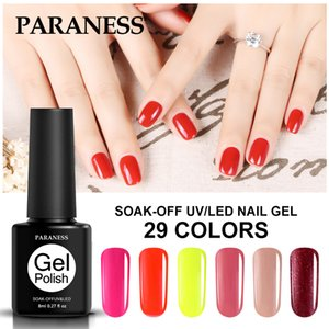 Paraness Colorful Gel UV Nail Polish Gellak Primer Soak Off Gel Nail Art polacco semi ibridi permanente rimovibile per unghie