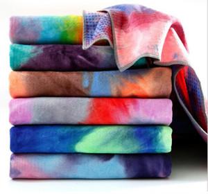 Anti-Rutsch-Yoga-Matte Handtücher Hot Yoga Handtuch Matten Matte für Fitness-Matte Abdeckung Taschen Pilates Yoga Decke hohe Qualität