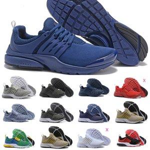 2019 Nike Air Max Presto Shoes Air Prestos Hombres Mujeres Run Aire prestos Ultra BR QS Tp Amarillo negro rosado Oreo Deportes mosca de la manera jogging zapatillas de deporte