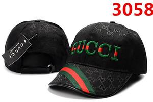 Cappelli di Snapback di baseball di Snapback dei berretti da baseball famosi di marca di modo famoso all'ingrosso di marca per gli uomini Donne Sport schienali protezione regolabile dell'osso
