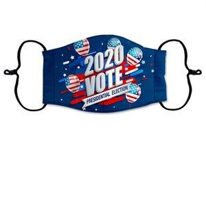2020 Nouveau Trump Masque Visage Lavable Impression Élection américaine antipoussière Bandan 15 Free Style DHL Livraison