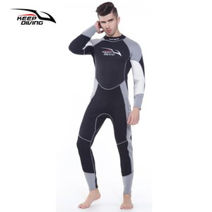 3MM Mens Neoprene Wesuit Mergulho Wet Suit Full-corpo para o surf Spearfishing Swim Mergulho Caiaque