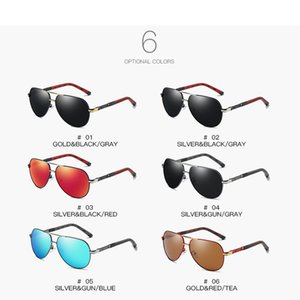 Fashion NEW Polarized UV400 Sunglasses Outdoor Driving Riding Motorcycle Spring Mirror Legs Series Colorful Film Fishing Unisex Glasses