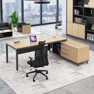 OEM Hecho a medida Muebles de oficina Muebles de oficina Ejecutivos Gerente EXECTURA Moderno Boss Tabla L Forma Director Tabla con silla