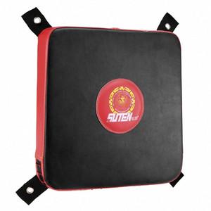 Mousse carré de boxe Fighting Pad mur Punching Bag Fitness Fournitures Pad mur solide sac de boxe sable cible Taekwondo Karaté Bat l3XH #