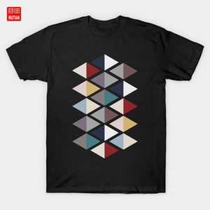 Scandinavian triangles 2 T-Shirt Scandinavian Design Minimal Art Minimalism Pattern Geometric
