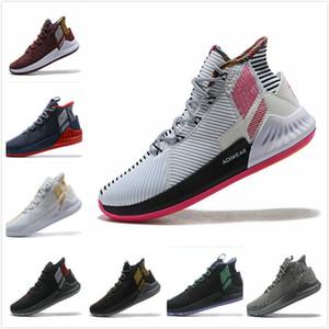 En Kaliteli Yeni D Gül 9 erkek Basketbol Ayakkabı Adam Derrick Rose Koşu Ayakkabıları 9 s Erkek Spor Sneakers Tasarımcı Ayakkabı Boyutu 40-46