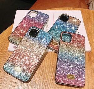 Gradyan Glitter Premium Yapay elmas Kılıf Üstün kalite Tasarımcı Kadınlar Defender Telefon Kılıfı iPhone 11 Pro Xr X Xs Max 6 7 8 Artı