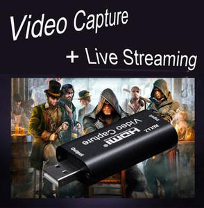 Barato vídeo mini tarjetas sintonizadoras de TV 4K 30 ENTRADA 1080P 30 Capture USB 2.0 de alta definición de captura de vídeo HDMI Tarjeta de Telefonía Informática