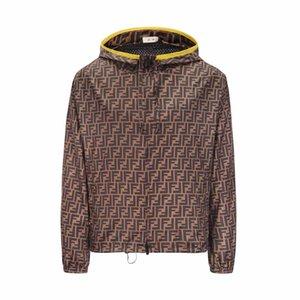 Мужские пальто дизайнер обычного цвета роскошь монограмма печать простого тренчкот мода тонкого тренд удобного пальто 2020 новый стиля