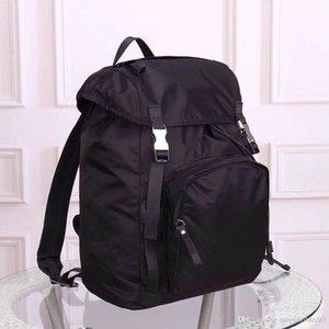 Wholesale business large capacity notebook backpack nylon shoulder waterproof bag designer shoulder handbag old flower Messenger bag parachu