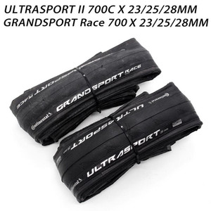 Continental SPORT ULTRA II Race Sport 700 * 23 / 25C 28C Road Bike Tire pneus de bicicleta dobrável Grand Sport RACE