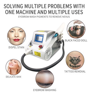 picoseconde Portable Laser Tattoo Removal Machine 532nm 1032nm 1064nm Q-switch ND Yag laser Déchatoiement périphérique