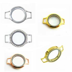 1pc 25mm 30mm bracelet wrap flottant locket vivant memmory bricolage flottant locket forme charmes de vie des femmes bijoux (pas de bande aucun charme)
