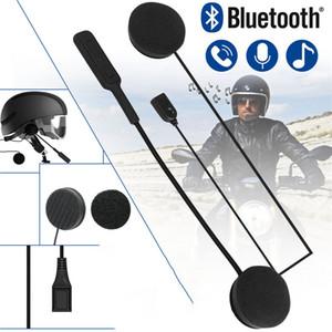 Bluetooth universel 5.0 Casque Casque stéréo 3D antiparasites Pour Casque de moto d'équitation mains libres casque