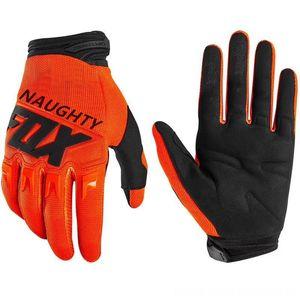 2020 FRECH FOX Motorrad Dirtpaw volle Finger-Handschuhe Motocross Radfahren Protektoren Radfahren Mountainbike MTB MX Moto Racing Handschuhe
