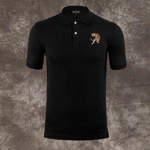 Calssic PP 해골 티 브랜드 슬리브 남성 폴로 럭셔리 의류 짧은 패션 핫 타이거 디자이너 캐주얼 고품질 T 셔츠 셔츠 M-3XL XJQPD