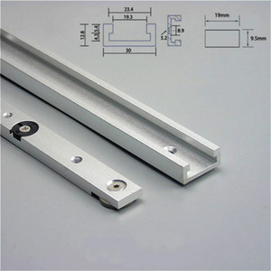 Liga de alumínio T-faixas slot Mitre Track and Mitre Bar Slider Tabela Saw calibre Rod Carpintaria Ferramentas Workbench DIY
