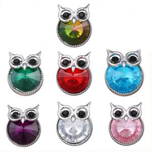 10pcs lot New 18mm Snap Buttons Jewelry Rhinestone 18mm Snaps Jewelry Fit Snap Bracelets Women