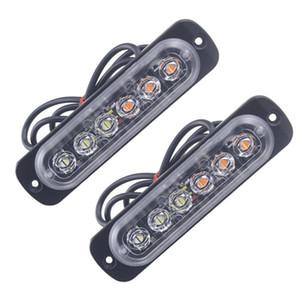 2X voiture ampoules 2 Pcs LED orange 6 voiture camion d'urgence Gyrophare Risque stroboscope Light lumière LED auto