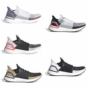 Ultra Bost 19 Erkek Kadın Koşu Ayakkabıları Lazer Kırmızı Koyu Piksel Çekirdek Siyah Ultra Bosts 4.0 5.0 Trainer Spor Sneaker