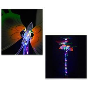 Işık-up Magic Ball Wand Glow Stick kelebek LED Sihirli Asalar Cadılar Bayramı Chrismas Parti Rave Oyuncak Büyük Hediye İçin Çocuk Doğum Günü 10pcs
