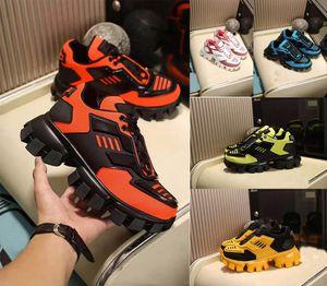 2020 Chaussures Casual CloudBust de Thunder Knit Hommes Top Chaussures de qualité en tissu caoutchouc classique Low Top plateforme en cuir à lacets chaussures de sport mode