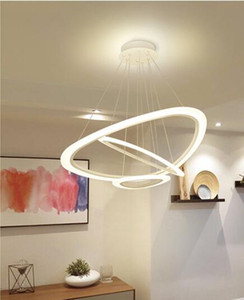 Factory direct sales living room chandelier acrylic creative personality dining chandelier concise post-modern Nordic home bedroom led Chand