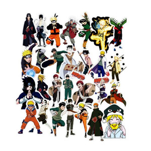 49/51/100 pcs / pack Mixed Naruto Anime adesivos para carro Laptop Skate Pad Bicycle Moto PS4 Telefone Decal Pvc Adesivos BY1500