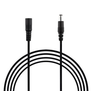 20AWG 10Ft 2.1mm x 5.5mm Macho a Hembra Cable de Extensión Adaptador de Jack de Alimentación Cable de Enchufe de Barril, Cable de Extensión para Cámara de Seguridad CCTV, DV
