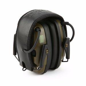 Doğa Sporları Anti-parazit Darbe Ses Amplifikasyon Elektronik Koruyucu Kulaklık İşitme kulaklık Taktik Avcılık Atıcılık
