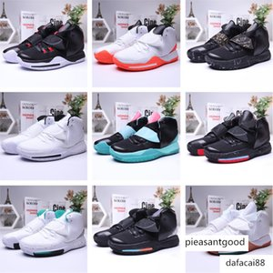 New Kyrie Black Magic Vi 6 Ki6 Ep Mens Basketball Shoes Irving 6s Zoom High Ankle Sport Training Sneakers Size 40-46