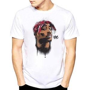 hombres 2Pac Shakur camiseta de Hip Hop T Shirts rapero Snoop Dogg Biggie Smalls eminem J Cole Jay-Z salvaje hip hop rap