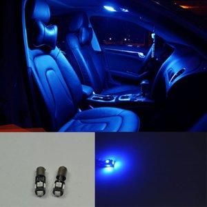 4 개 블루 5 SMD LED 조명 실내 돔지도 폭 빛 아우디 A4 B5의 B6의 12V