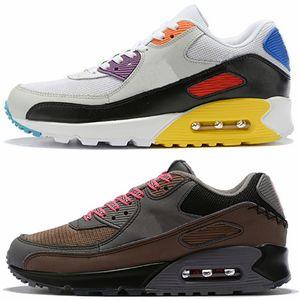 2019 Hommes Chaussures de course 90 Hommes Mars Landing Années 90 Designer noir blanc Classique Années 90 Be True Rainbow Multicolore Betrue Sports Sneakers Schuhe nike air max