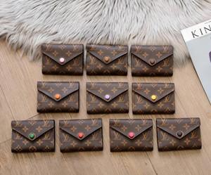 estilo multi clássico Moda acessórios para homens e mulheres Designers embreagem carteira de couro bolsa de presbiopia Purse emenda Key