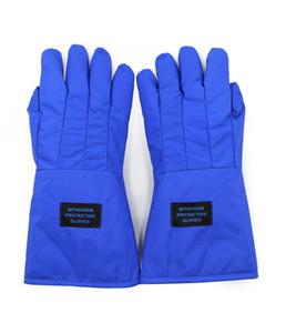 C.K Tech. -250 degrés imperméable gants de protection de congélation d'azote liquide anti-froid, basse température