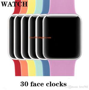 O carregamento sem fio Goophone Assista 5 4 3 IP67 impermeável relógio inteligente 44 milímetros Heart Rate Sangue MTK2503AVE pressão para iPhone 11 Pro Max S10 +