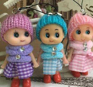 Mini Plush Toy Kids Toys Dolls Soft Interactive Baby Dolls Toy Mini Doll for Girls Wedding Favors DHL Free Accessories