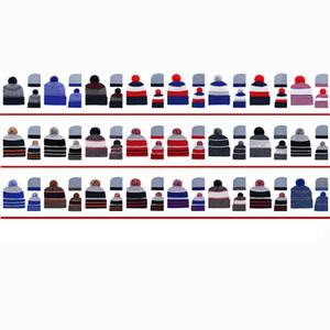Cappelli lavorati a maglia economici ricamati Sport Tutti i berretti da squadra per uomo Cappelli da baseball da donna Fashon Cappellini invernali Skullies Cappellini Ordine della miscela 5000 + stili