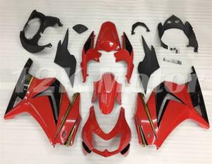 venta caliente nueva inyección ABS motocicleta carenados kits en forma para Kawasaki Ninja 250R 2008 2009 2010 2011 2012 2013 2014 libre de la aduana Rojo Negro