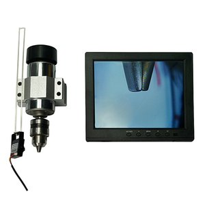 Universal CNC professional CCD camera system 1080P with 7 inch monitor lens BNC connector