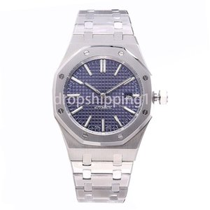 relojes de lujo reloj de 42 mm completa correa de acero inoxidable de alta calidad de oro automática de zafiro reloj luminoso orologio di Lusso 5 ATM impermeable
