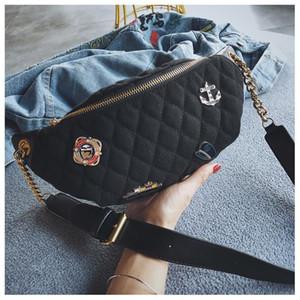 فاخر مصمم حقائب اليد المحافظ مصمم حقيبة الخصر رجل إمرأة جديد شارة الصدر حقيبة صغيرة البسيطة الأزياء Waistbag مصنع بنات الساخن الساخن حقائب