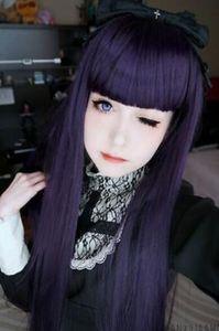 Бесплатная доставка++ подробная информация о Inu x Boku SS Ririchiyo Shirakiin длинные Виолетта косплей Перрук парик