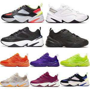 Nike m2k tekno 2020 En Yeni Spor M2K Tekno Womens makale Bej Elektrikli Volt kabartılmış Denim Saf Platin siyah beyaz turuncu PARİS Marka Ayakkabı Koşu