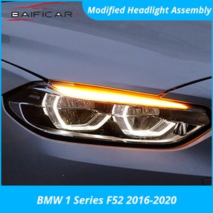 Baificar Brand New Headlight Assembly Modified Angel Eye Day Running Light Full LED High Low Beam for 1 Series F52 2020-2020